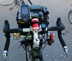 Bar End Shifters that explains all the junk