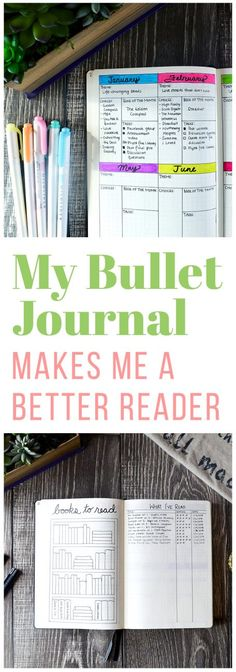 Reading is one of those things that you always mean to get around to but it often slips your mind. But you can make reading a bigger part of your life by creating some reading spreads in your bullet journal! via @LittleCoffeeFox