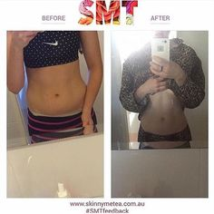 "Renee is feeling more energised after kickstarting her health journey with SMT #SMTfeedback - ""I love it so much! Highly recommend this product as it not only tastes great, it provides great energy"" -  This photo was generated using our free iPhone Teatox Tracker app! - For more: @SkinnyMeteaResults - SHOP: www.skinnymetea.com.au"