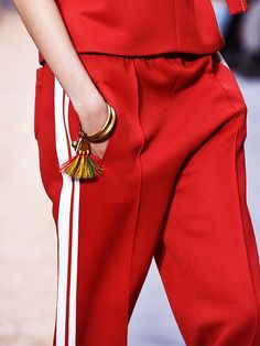 The Designer Track Pants We're Seeing Everywhere
