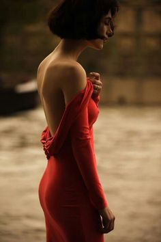 #lady in #red