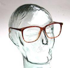 22a12b6be20 Vintage 90s Rx Glasses SERGIO VALENTE Spotty Tortoise Shell Wayfarer Frames  Prescription Glasses Men or Women