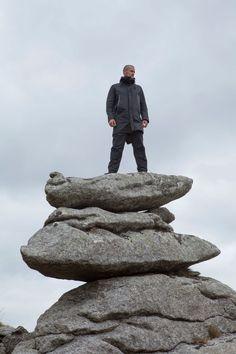 Griffin SS15  #Climbing #Bouldering #parka #fishtail #Menswear #Military #fashion #freedom #eco #sustainability #sustainable #luxury #British #MadeinItaly #sportswear #outdoors #Dartmoor #LoveLife