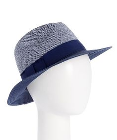 Another great find on #zulily! Blue Two-Tone UPF 50+ Fedora #zulilyfinds