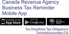 It might be to your advantage to make use of the new mobile app that the CRA has created for you in respect to tax reminders, Blackberry World, Tax Deadline, Government Of Canada, Federal Agencies, App Store Google Play, Filing, Mobile App, How To Get, Website