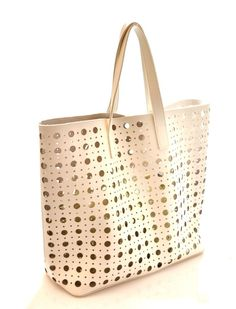 HAND BAG 3482 BIANCO ORO Borsa Mano Tracolla Shopping Spalla Pochette Estate17