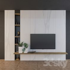 stylish Stylish Tv Wall Unit Ideas For Stunning Living Room Design Tv Unit Decor, Tv Wall Decor, Wall Panel Design, Tv Wall Design, Tv Cabinet Design, House Design, Fake Walls, Tv Walls, Wall Tv Stand