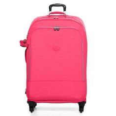 Yubin 81 Spinner Luggage in Vibrant Pink #Kipling #KiplingSweeps