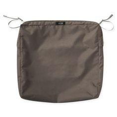 classic accessories ravenna rectangular patio seat cushion slip rh pinterest com