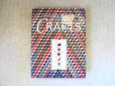 USA Crafts Book America's Traditional Crafts Coffee Table