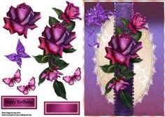 Beautiful Deep Purple Roses