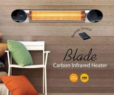 Infrared Heater, Blade, Remote, Llamas, Pilot