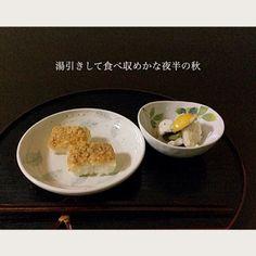 鱧の押し寿司、湯引き