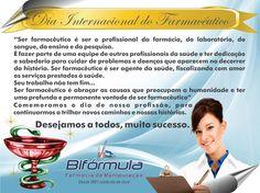 Cartão Comemorativo: Dia do Farmacêutico  Cliente: Bifórmula Farmácia de Manipulação