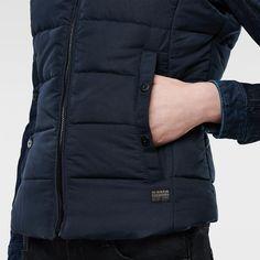 G-Star RAW | Women | Jackets-coats | Whistler Slim Vest , Mazarine Blue