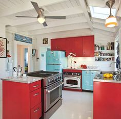 turquoise appliances | Pin it Like Image