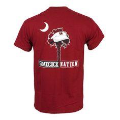 South Carolina Gamecocks Visor Tree T-Shirt - Garnet #gamecocks