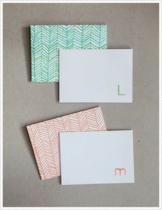 DIY stationery. Free download of the envelope.