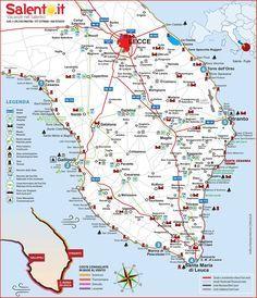 Cartina Della Puglia Turistica.Tuscany Italy Tours Italyvacation My Travel Bucket List In 2019