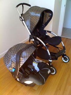 Gucci Baby Car Seat by DiamondCouture on Etsy