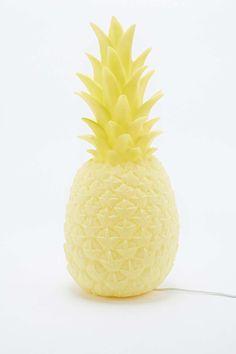 "Goodnight Light – Gelbe Lampe ""Ananas"" mit UK-Stecker"