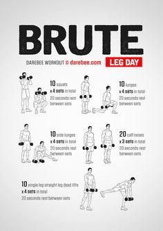 Brute: Leg Day Workout More