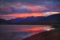 Alaska:  Gates of the Arctic National Park sunset