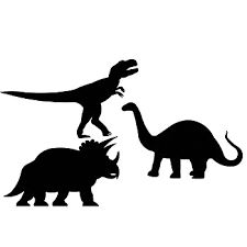 Image result for dinosaur outlines
