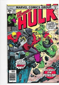 The Incredible Hulk #203 Bronze Age Marvel Comics Len Wein VF