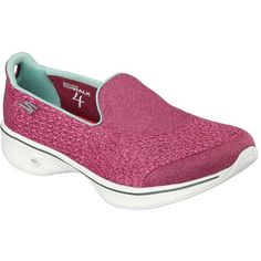 fe6989096352 Skechers Womens Go Walk 4 Pursuit Rose Every day is a choice Choose  greatness with the