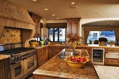 Large Mediterranean Kitchen : Mediterranean Decorating Ideas Kitchen – The Kitchen Dahab