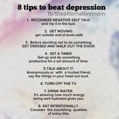 anti depression techniques