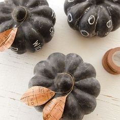 Chalkboard Pumpkins Project by Vanessa Spencer
