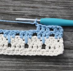 Tutorial for crocheting the larksfoot pattern!