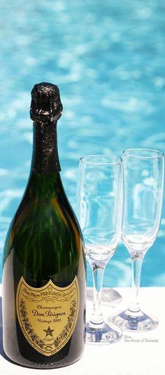 ~Dom Perignon poolside | The House of Beccaria