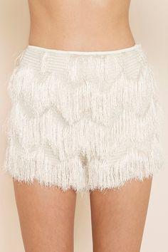 fringe shorts. love!