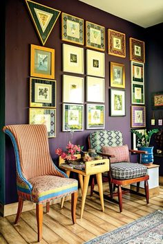 On the haute seat Hue, Accent Chairs, Gallery Wall, Indoor, Studio, Inspiration, Home Decor, Upholstered Chairs, Interior