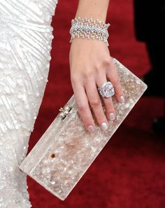 love the clutch and jewelry