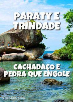 Praias de Paraty e Trindade: Praia do Meio, a trilha até a piscina natural do Cachadaço e como chegar na cachoeira Pedra que Engole