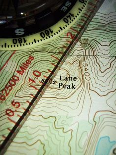 How to Navigate with a Map and Compass (PDF)
