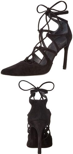 I love the fit. Stuart Weitzman shoes fit well for those of us with more narrow feet. I wear an 8 medium and my foot is a bit narrow. These are great shoes for any event. Dress them up or down. I love high heels! I would recommend these shoes, they're very stylish and the fit is true to size for Sturart Weitzman's shoe styles.