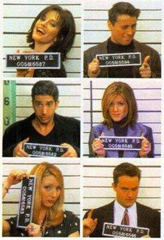 In the jail F.R.I.E.N.D.S