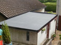These Flat Roofs Can Be A Cost Effective And Choice For Commercial  Properties By Using