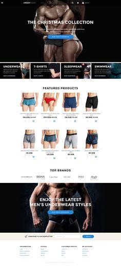 OpenCart Template , Underwear - Lingerie