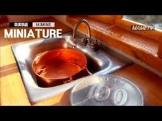 ▶ 미니어쳐 물나오는 싱크대만들기 Miniature- sink - YouTube