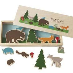 Kreativ Spielset Waldtiere Woodland von Dwellstudio