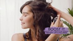 Try this quick up-do for any special occasion using L'Oreal Paris BOOST IT Volume Inject Mousse and BOOST IT High Lift Creation Spray.   Click the 'visit' button for a full step-by-step tutorial.