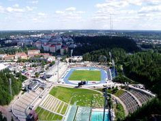 Lahti, Finland. Photo taken from the ski jumping towers. #Travel