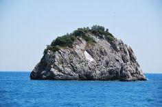 Insel/Felsen bei Parga, Griechenland.  Copyright by Rodrigue R.R. Brugger, 2015