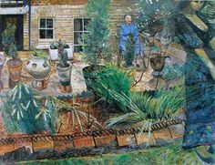 'Thoughts of Girlhood' by Carel Weight, 1968 (oil on canvas)
